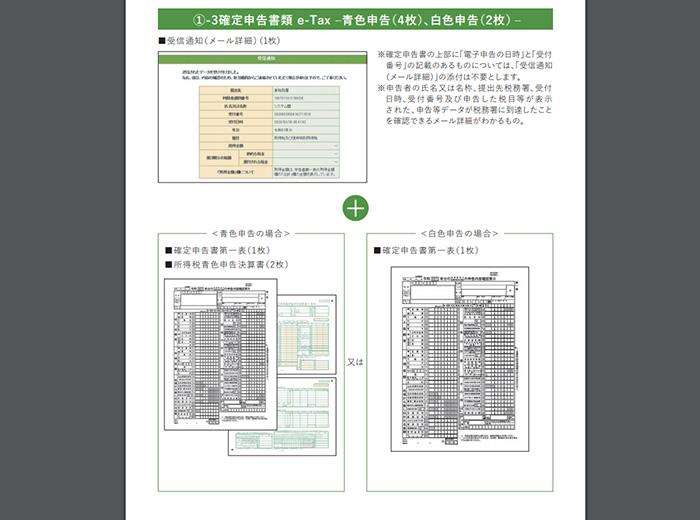 持続化給付金pdf確定申告書類