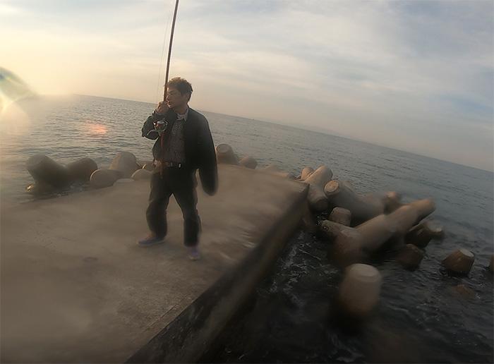 海中ハウジングケースにGopro入れる